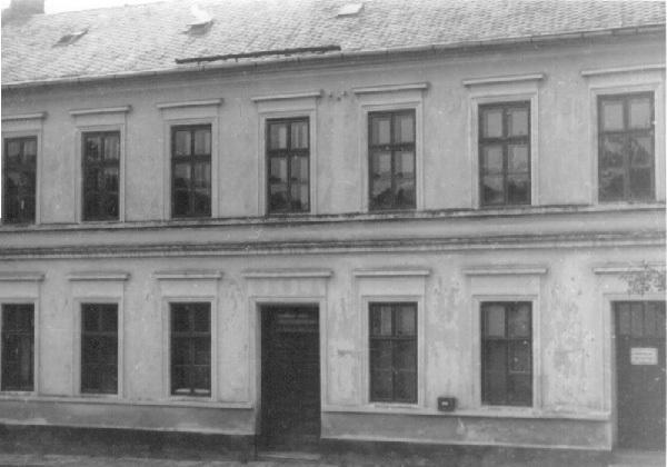 Mateřská škola v roce 1941